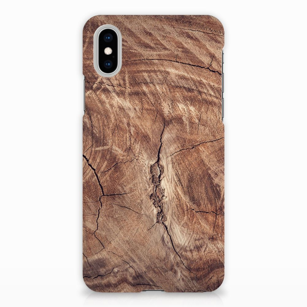 Apple iPhone X | Xs Hardcase Hoesje Design Tree Trunk