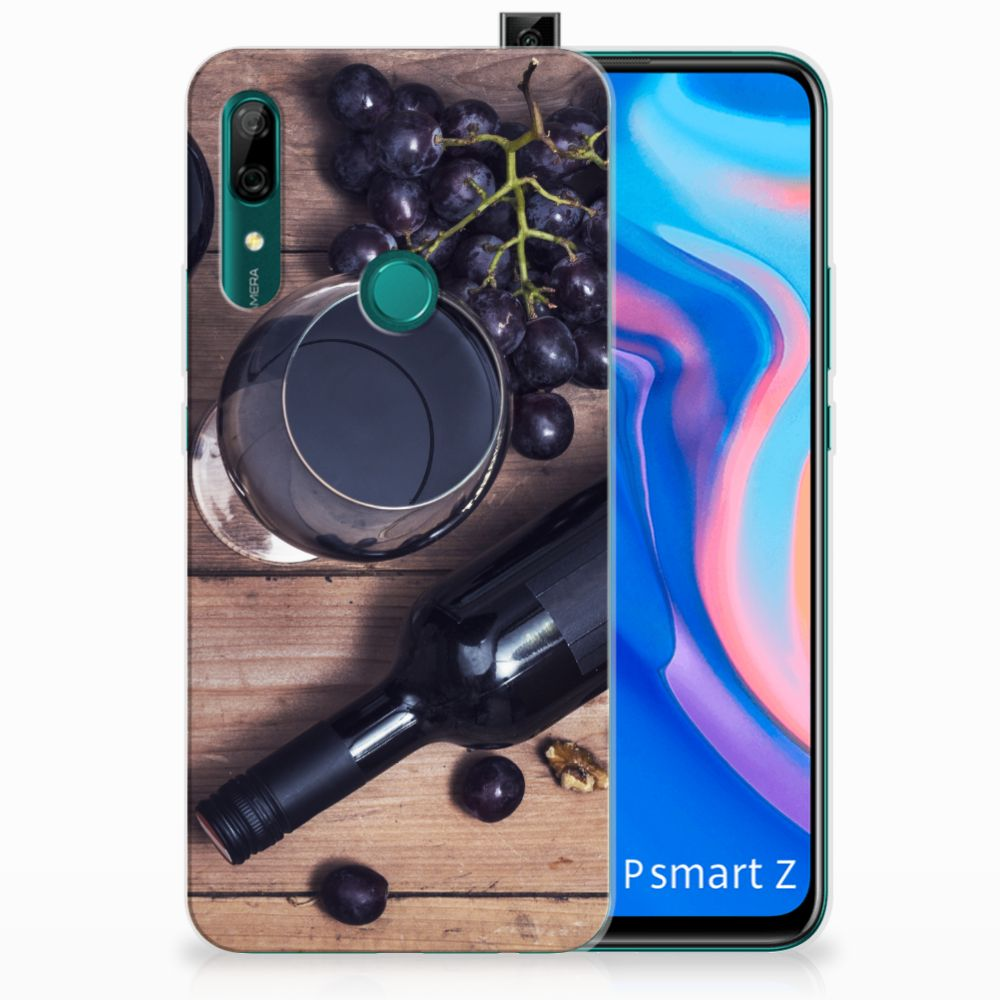 Huawei P Smart Z Siliconen Case Wijn