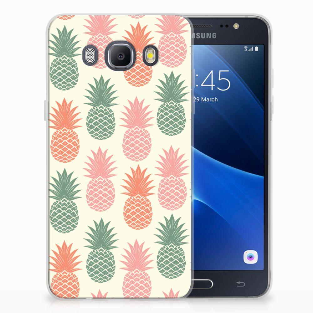 Samsung Galaxy J5 2016 TPU Hoesje Design Ananas