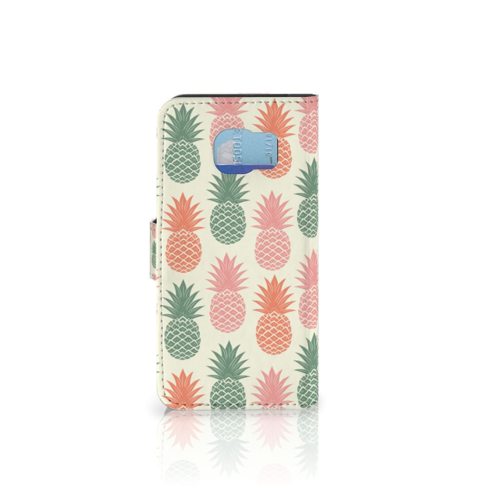 Samsung Galaxy S6 | S6 Duos Book Cover Ananas