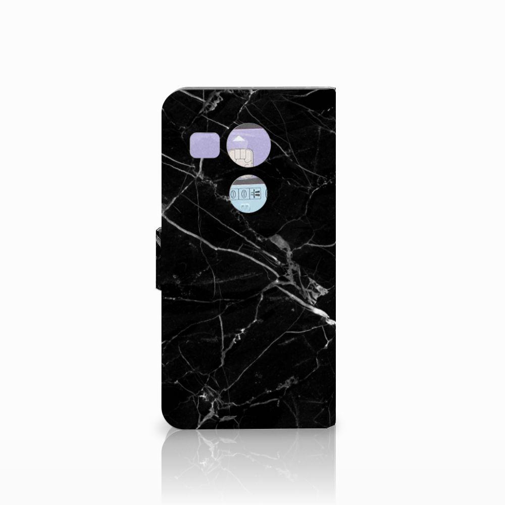 LG Nexus 5X Bookcase Marmer Zwart