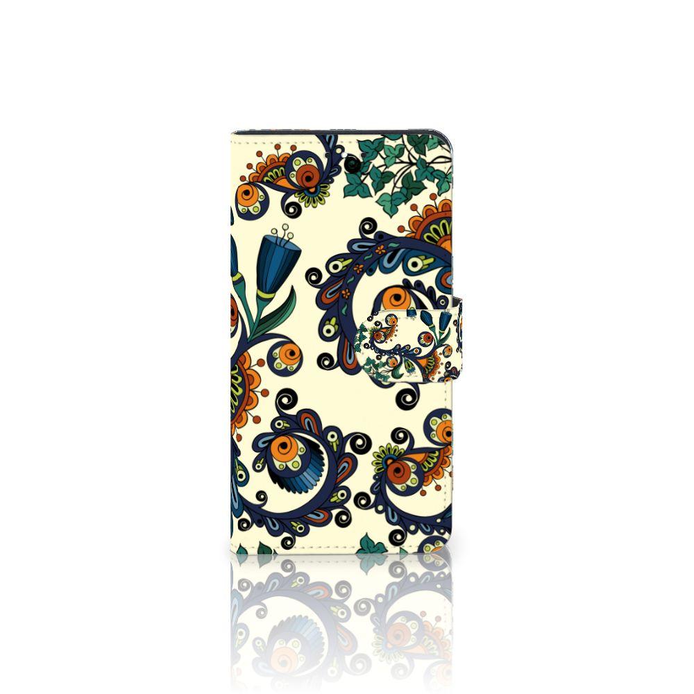 Motorola Moto G5S Plus Boekhoesje Design Barok Flower