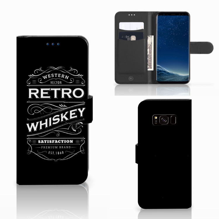 Samsung Galaxy S8 Book Cover Whiskey