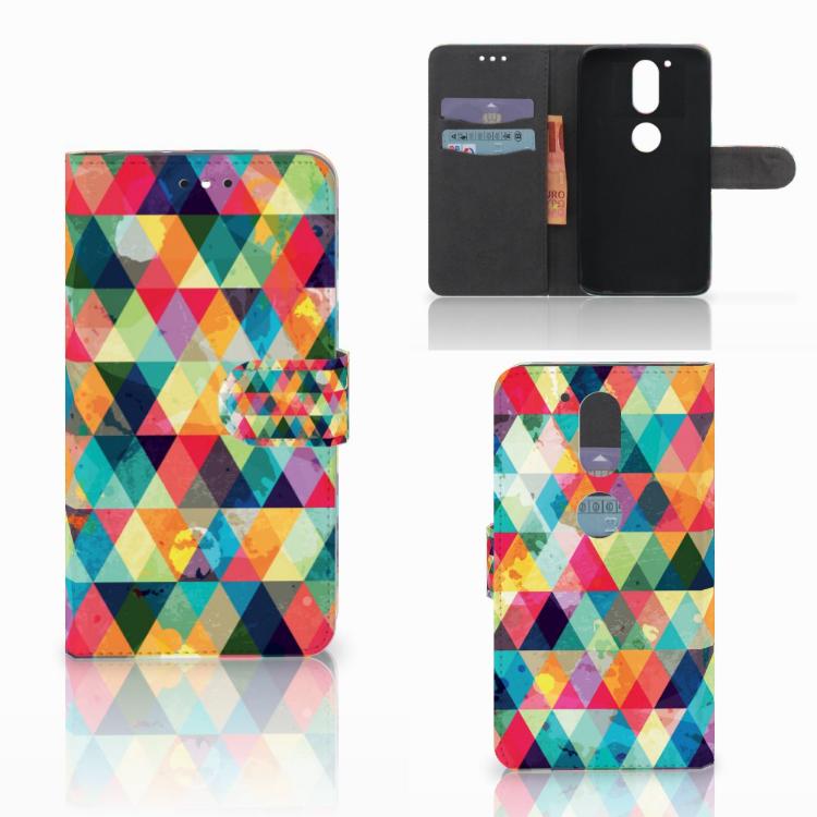 Motorola Moto G4 | G4 Plus Telefoon Hoesje Geruit