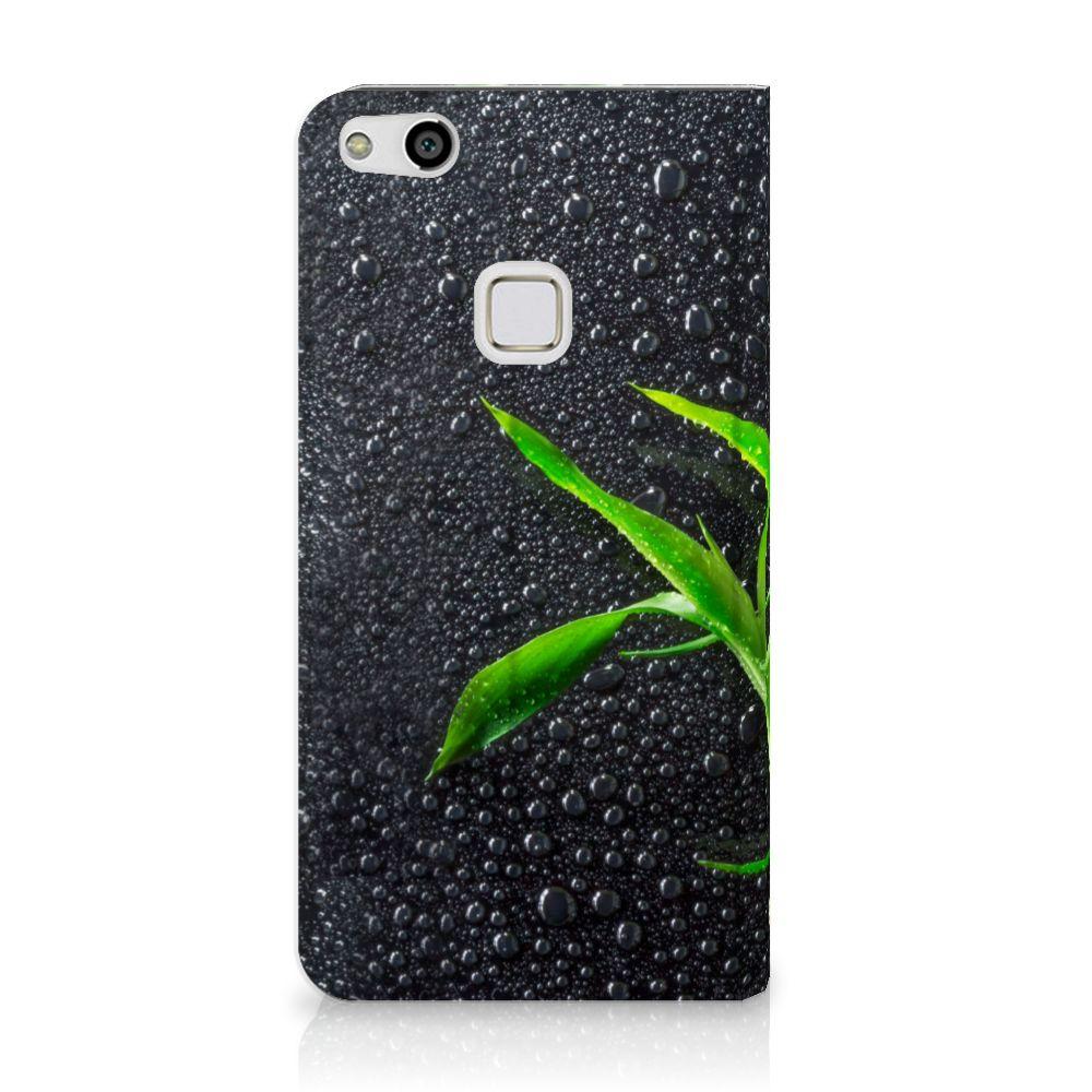 Huawei P10 Lite Standcase Hoesje Design Orchidee