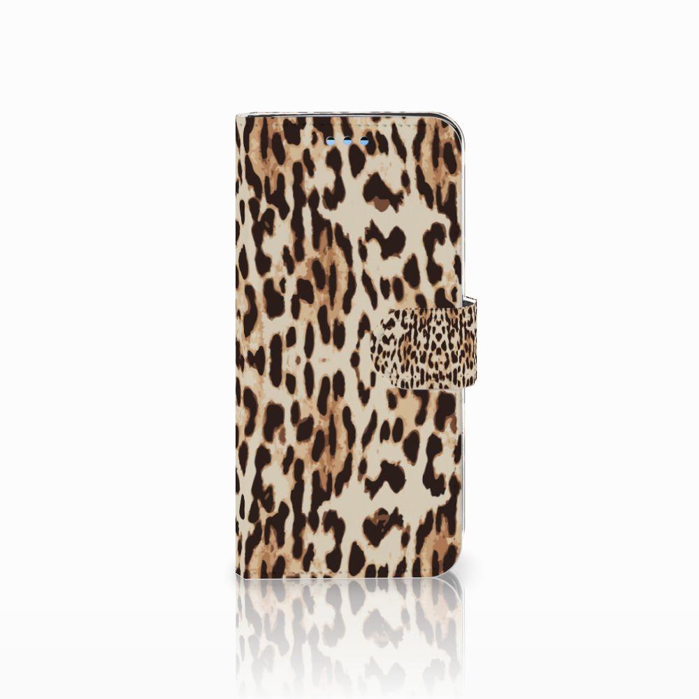 Samsung Galaxy S9 Uniek Boekhoesje Leopard