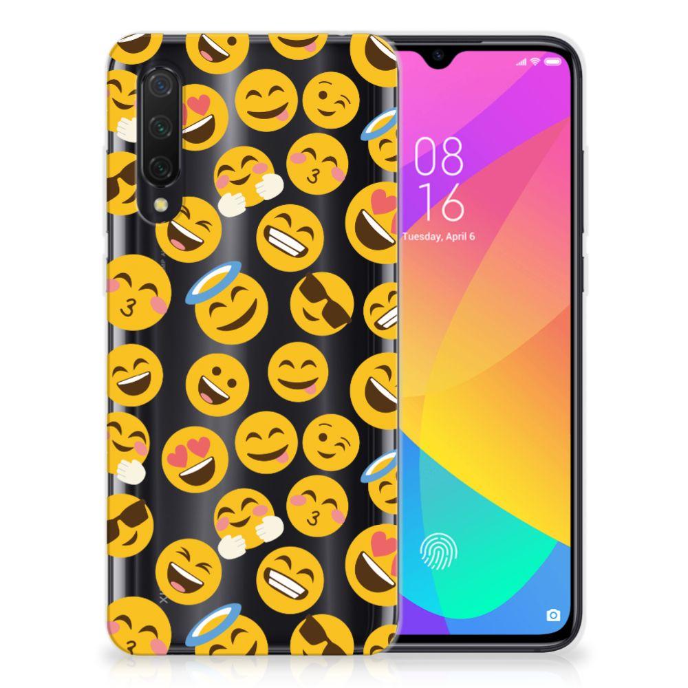 Xiaomi Mi 9 Lite TPU bumper Emoji