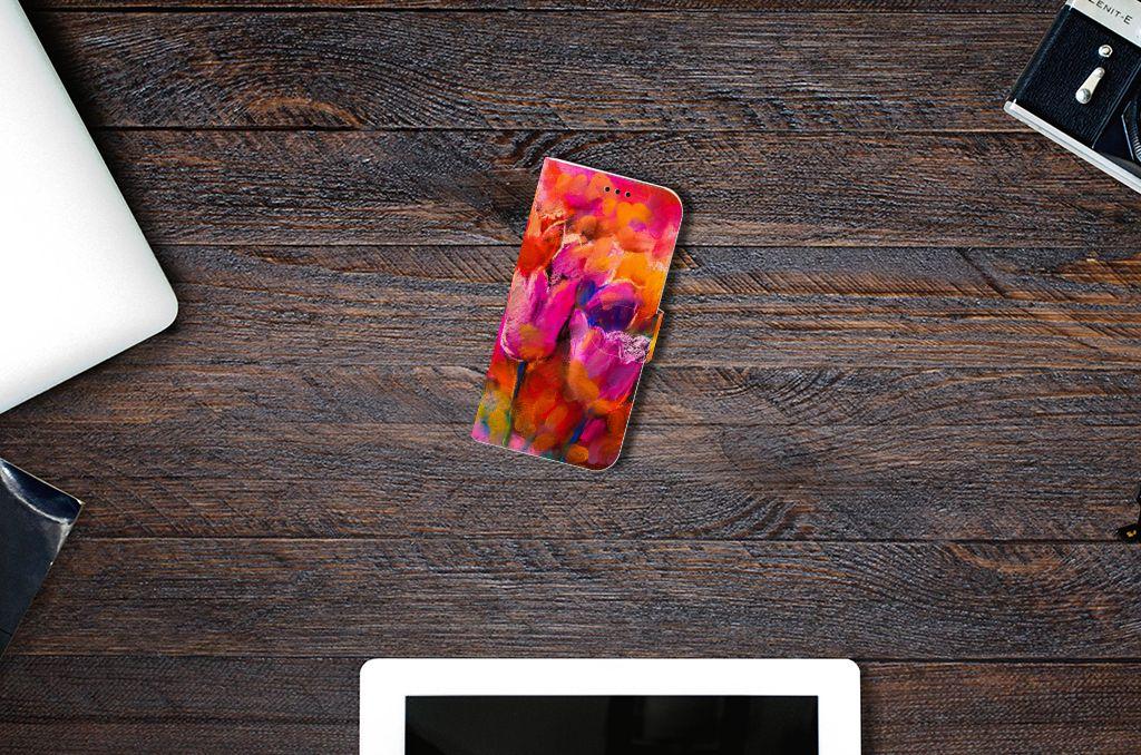 Samsung Galaxy A5 2017 Boekhoesje Design Tulips