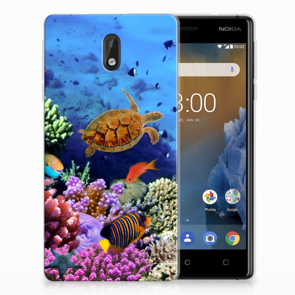 Nokia 3 TPU Hoesje Design Vissen