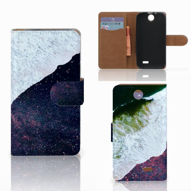 HTC Desire 310 Bookcase Sea in Space