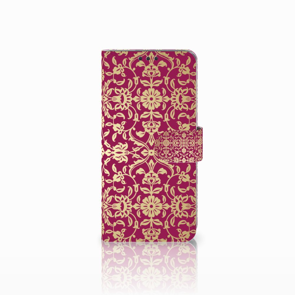 Sony Xperia Z5 Premium Boekhoesje Design Barok Pink