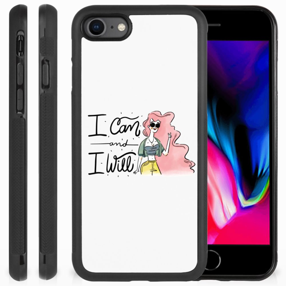 Apple iPhone 7 | 8 Bumper Hoesje i Can