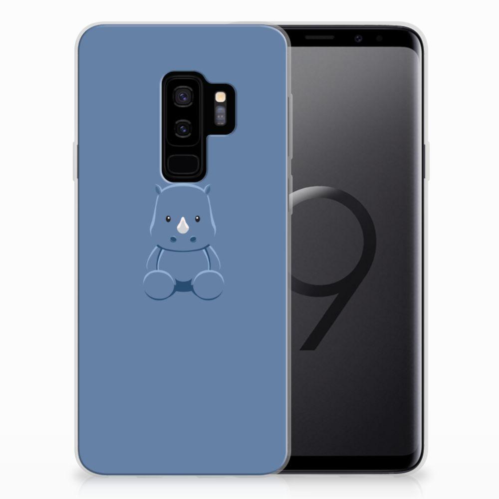 Samsung Galaxy S9 Plus Telefoonhoesje met Naam Baby Rhino