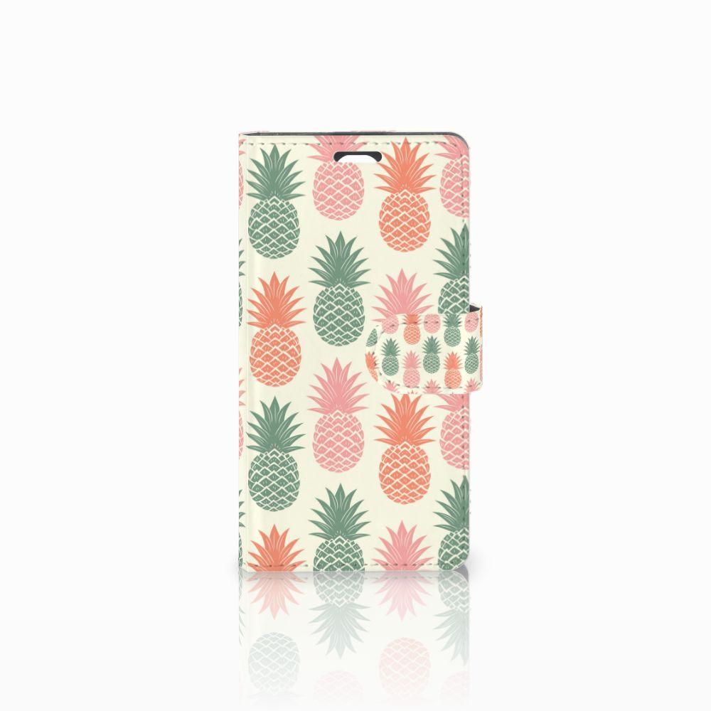 LG Magna | G4C Boekhoesje Design Ananas