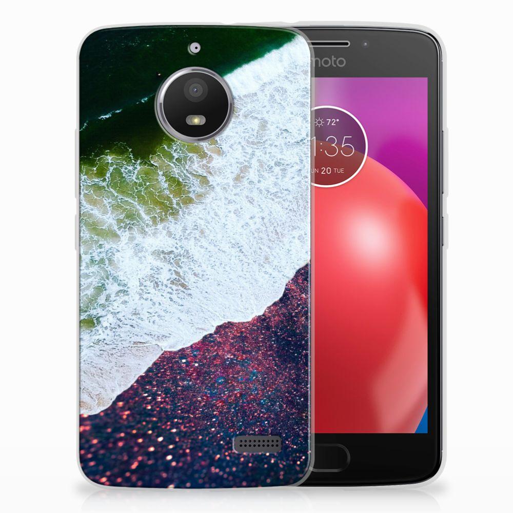 Motorola Moto E4 TPU Hoesje Sea in Space