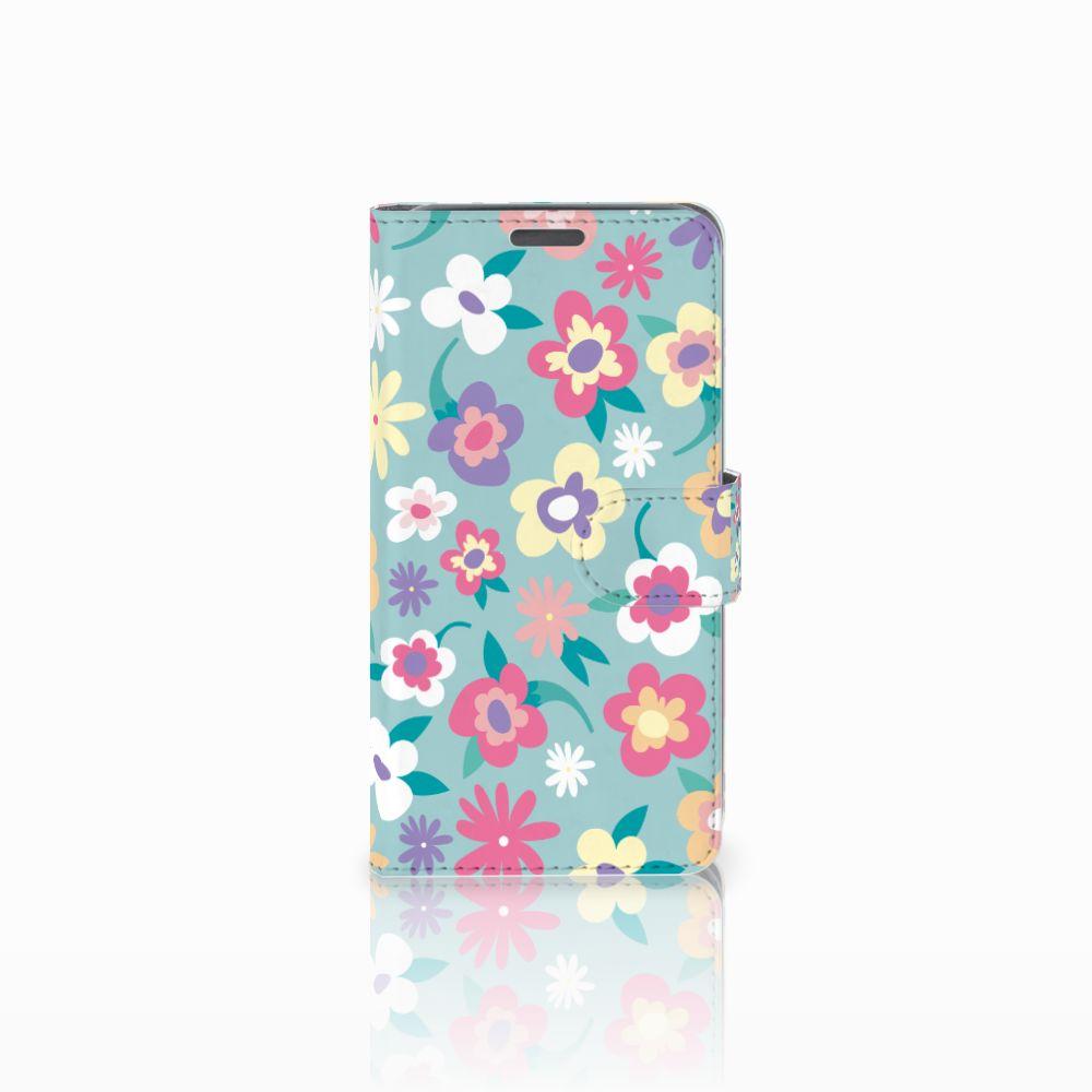 Wiko Lenny Boekhoesje Design Flower Power