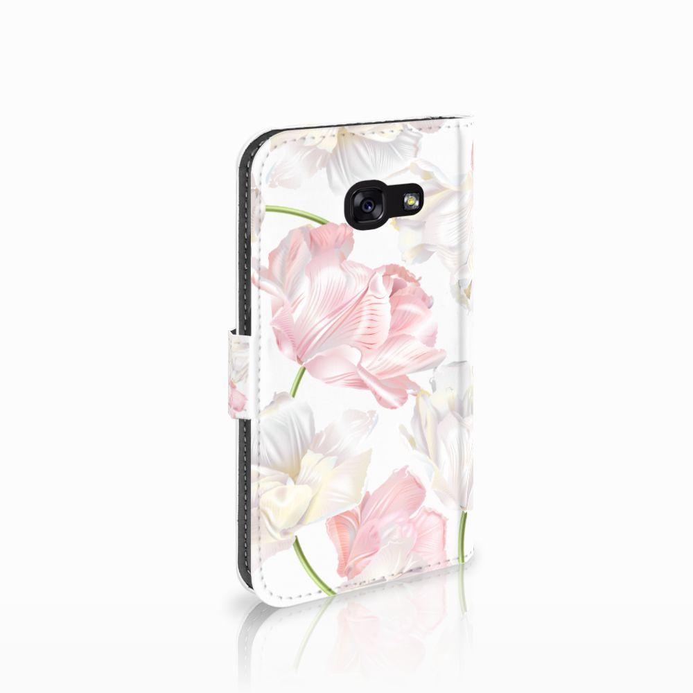 Samsung Galaxy A5 2017 Boekhoesje Design Lovely Flowers