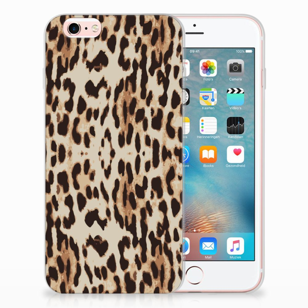 Apple iPhone 6 | 6s Uniek TPU Hoesje Leopard