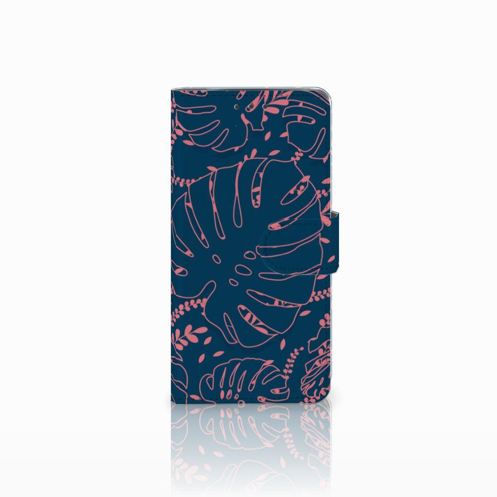 Motorola Moto X4 Boekhoesje Design Palm Leaves