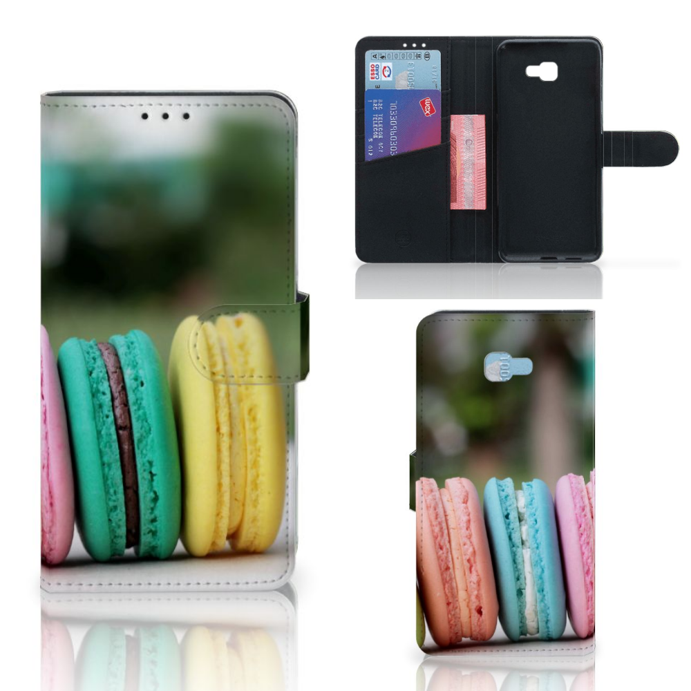 Samsung Galaxy J4 Plus (2018) Book Cover Macarons