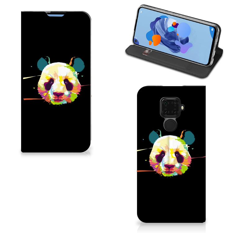 Huawei Mate 30 Lite Magnet Case Panda Color