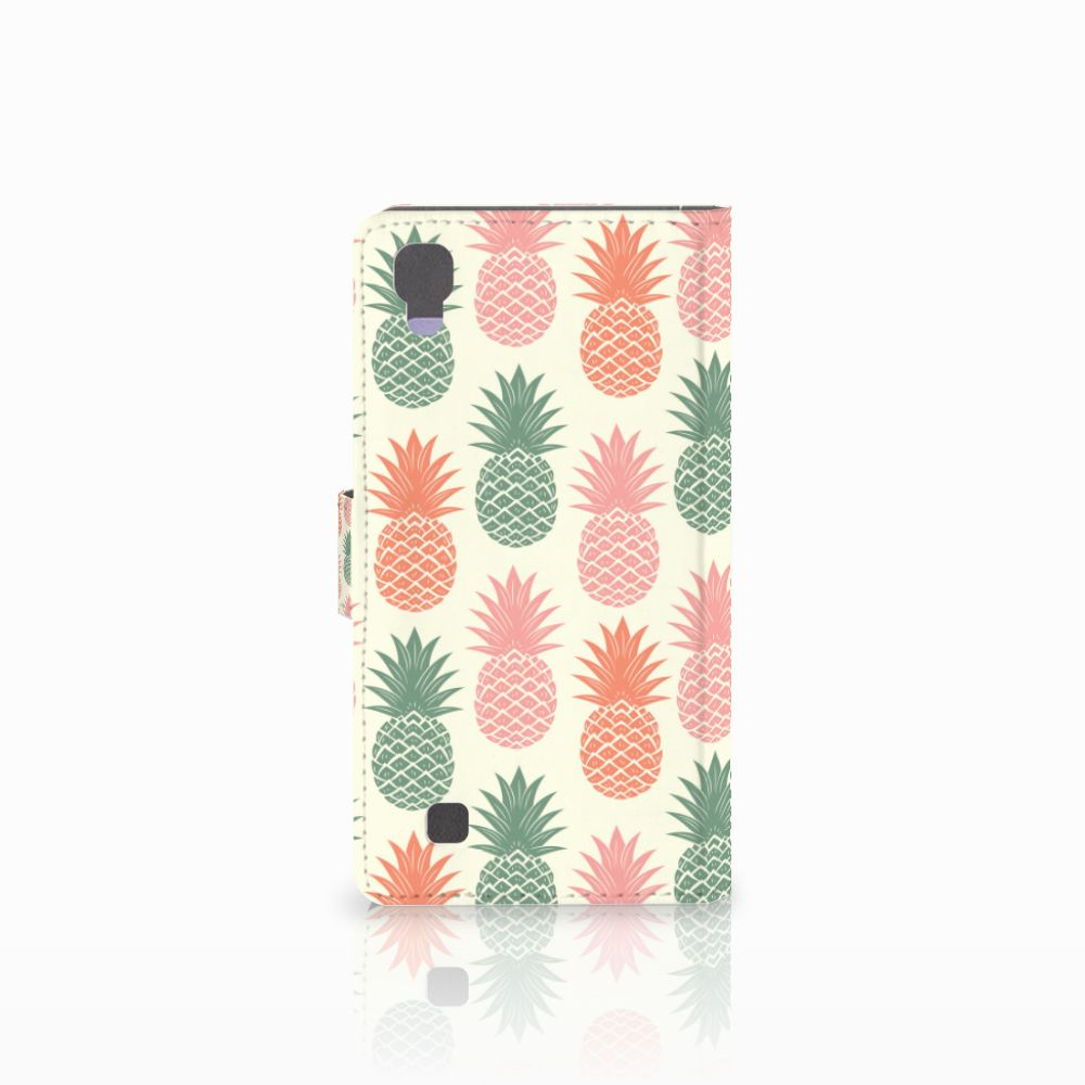 LG X Power Book Cover Ananas