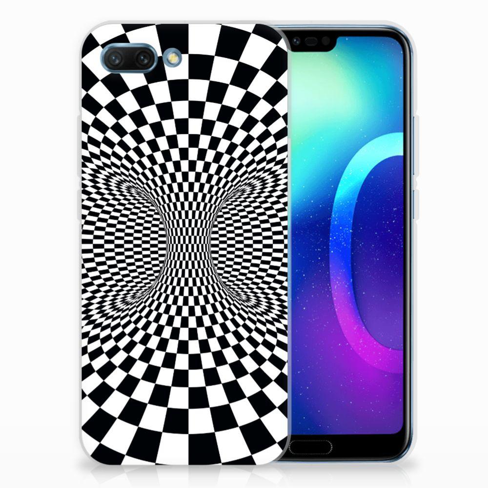 Huawei Honor 10 TPU Hoesje Illusie