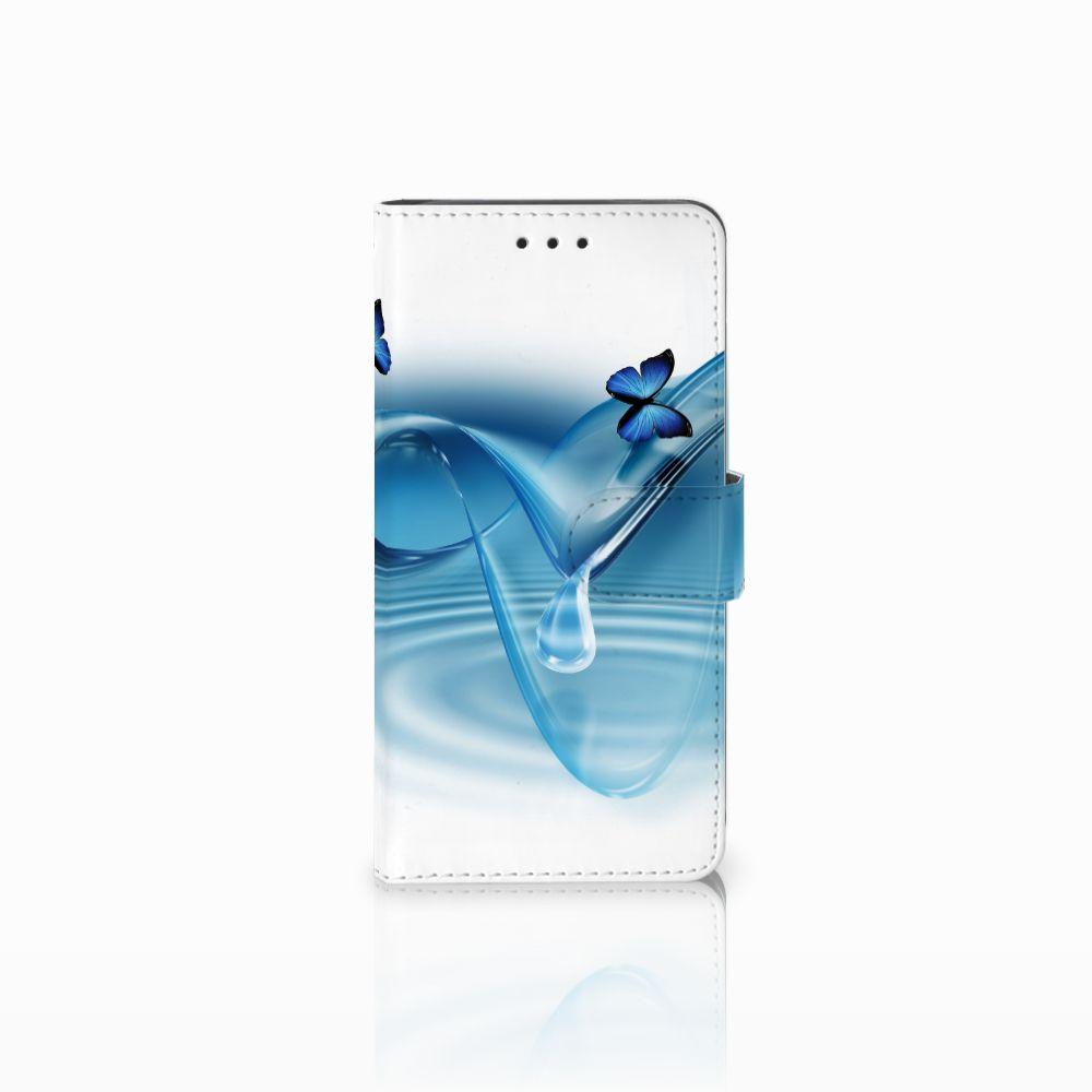 Huawei G8 Telefoonhoesje met Pasjes Vlinders
