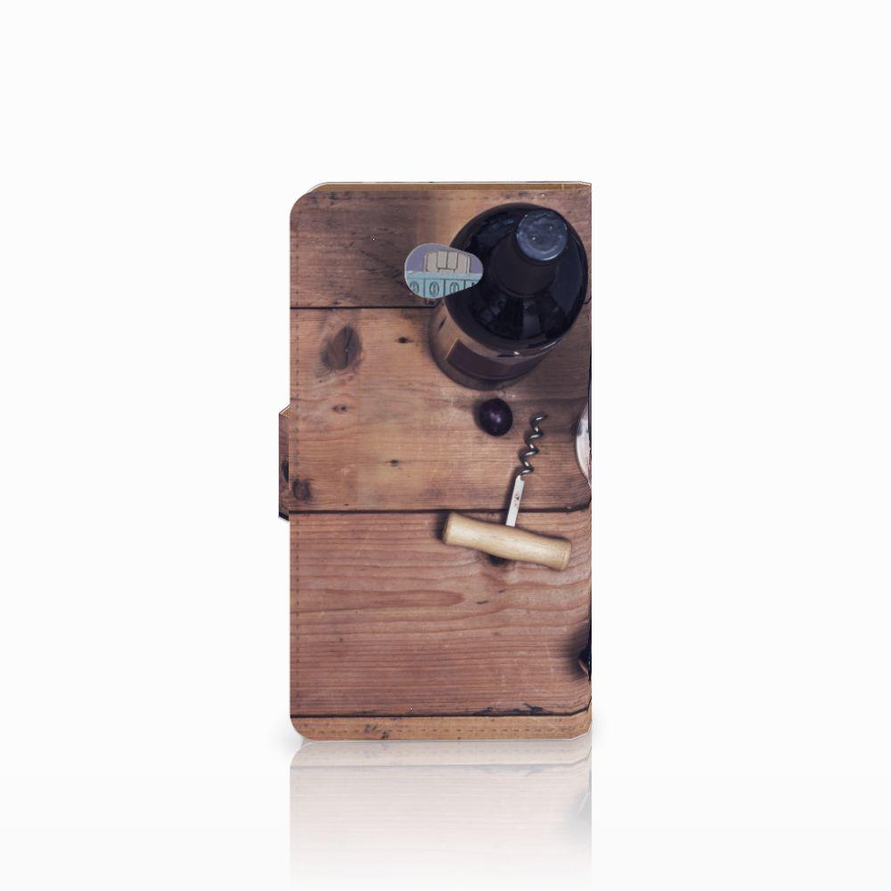 HTC Desire 601 Book Cover Wijn