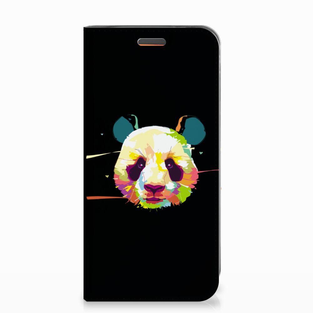 Motorola Moto E5 Play Magnet Case Panda Color