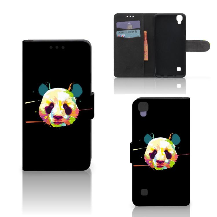 LG X Style Leuke Hoesje Panda Color