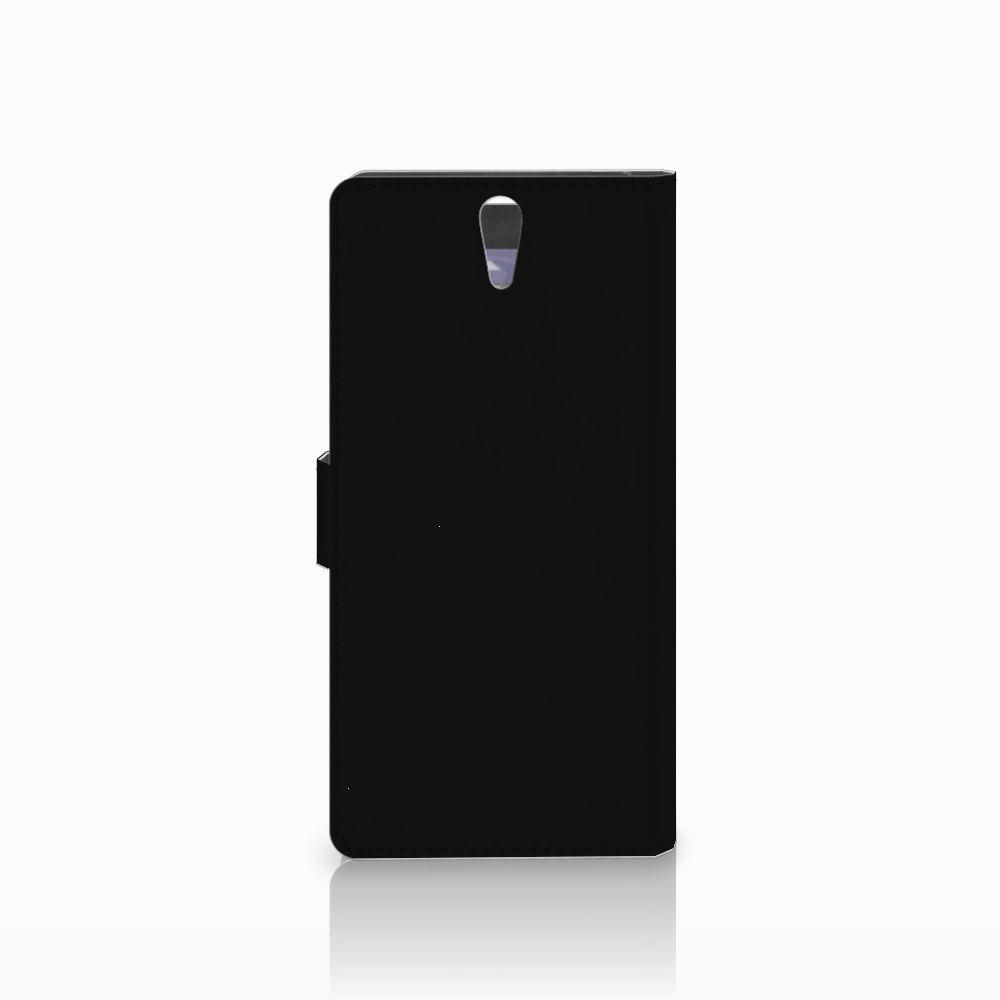 Sony Xperia C5 Ultra Wallet Case met Pasjes Popart Princess