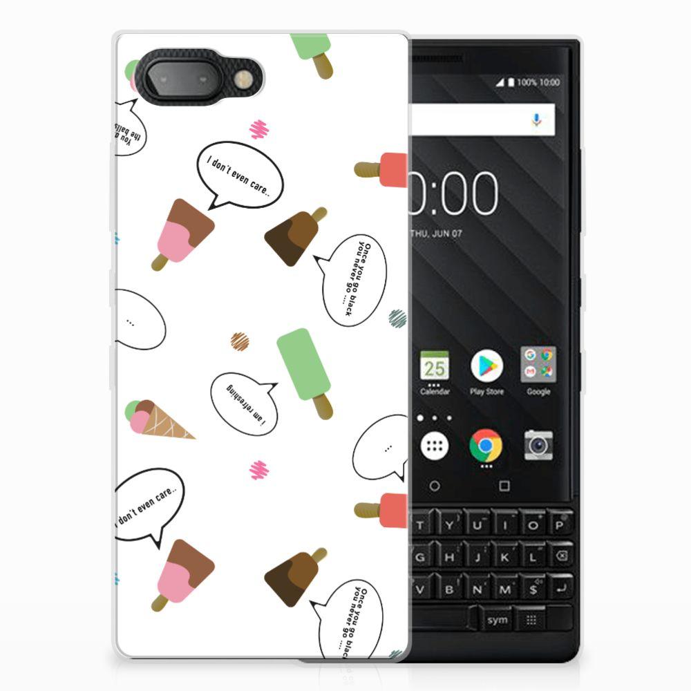 BlackBerry Key2 Siliconen Case IJsjes