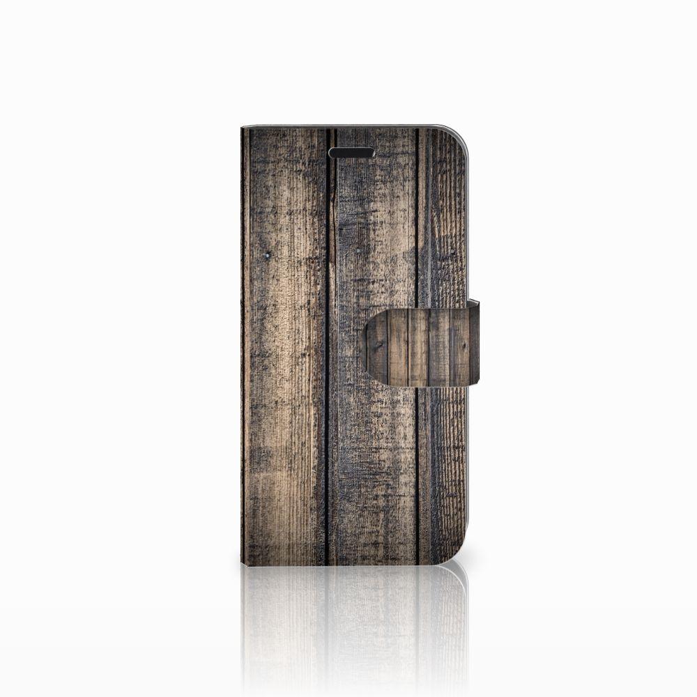 Huawei Nova Boekhoesje Design Steigerhout