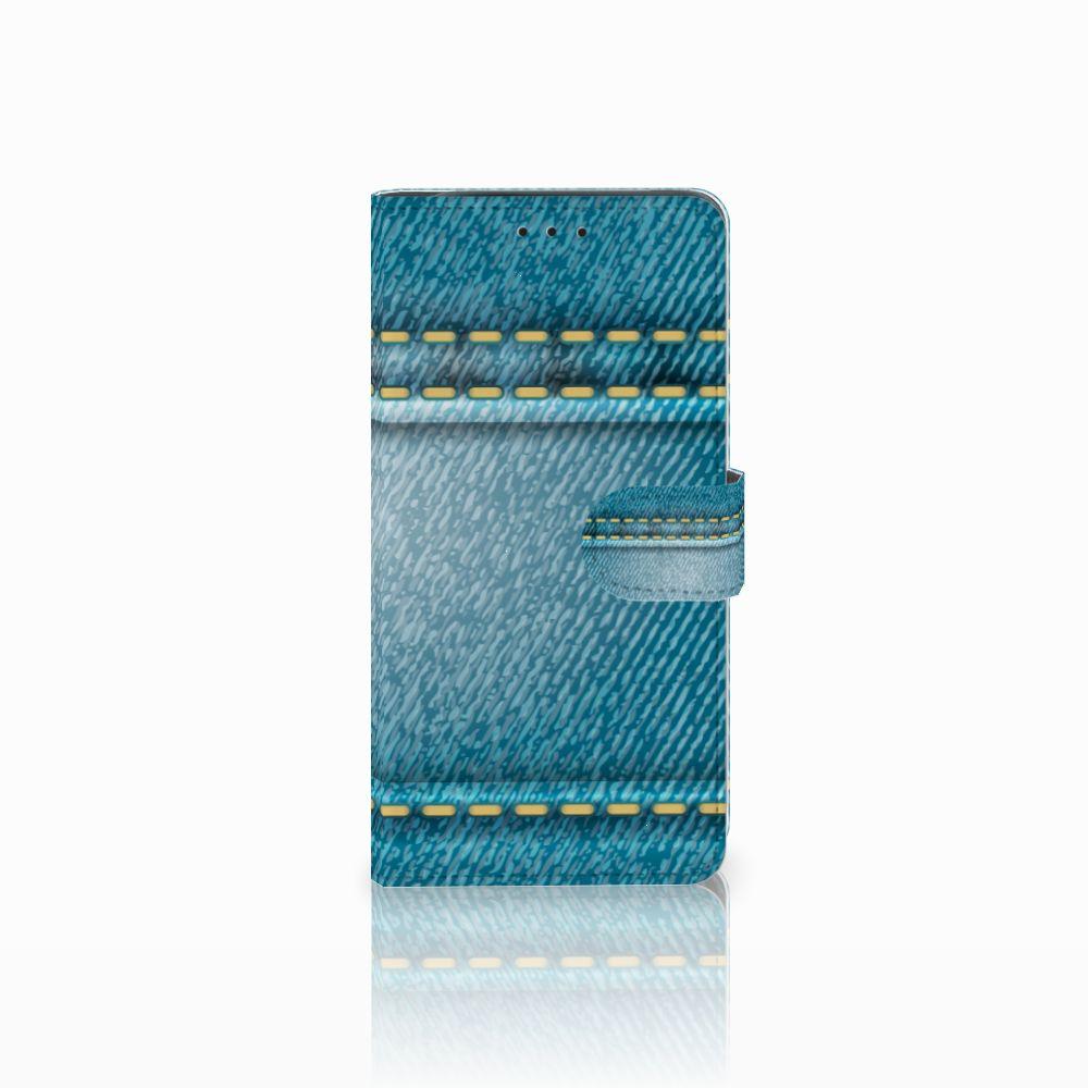 Samsung Galaxy J6 Plus (2018) Wallet Case met Pasjes Jeans