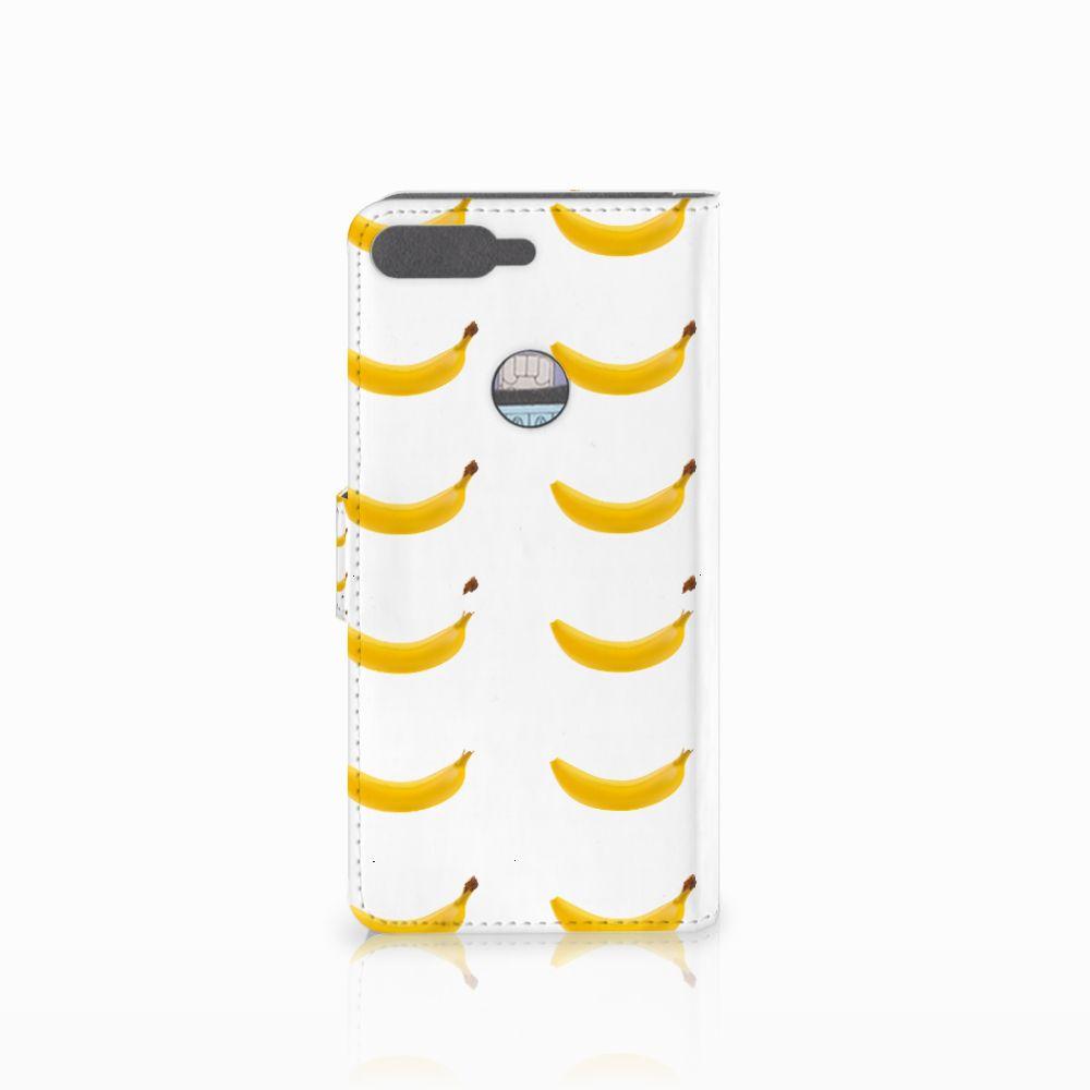 Huawei Y7 2018 Book Cover Banana