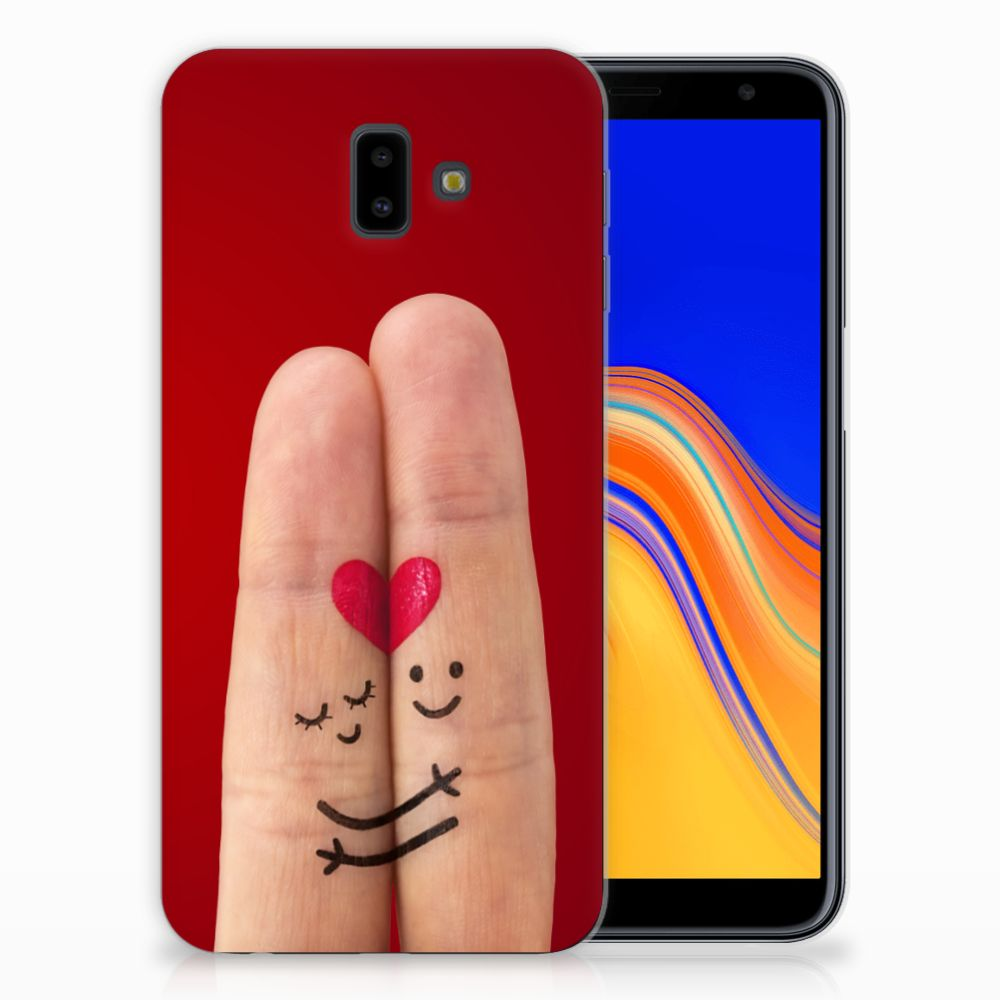Samsung Galaxy J6 Plus (2018) Silicone Back Cover Liefde