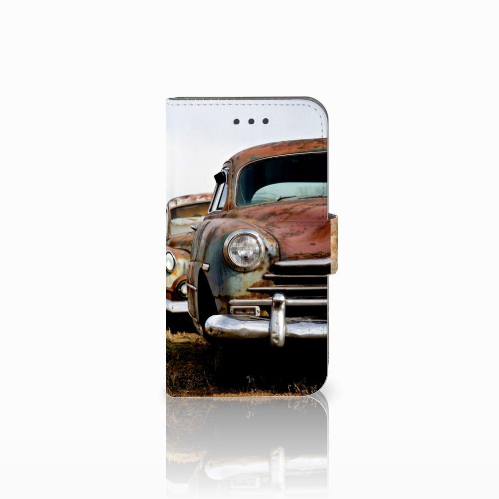 Samsung Galaxy Xcover 3 | Xcover 3 VE Uniek Boekhoesje Vintage Auto