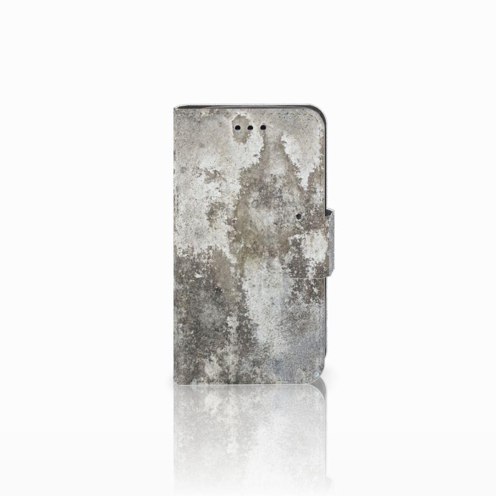Samsung Galaxy Trend 2 Boekhoesje Design Beton