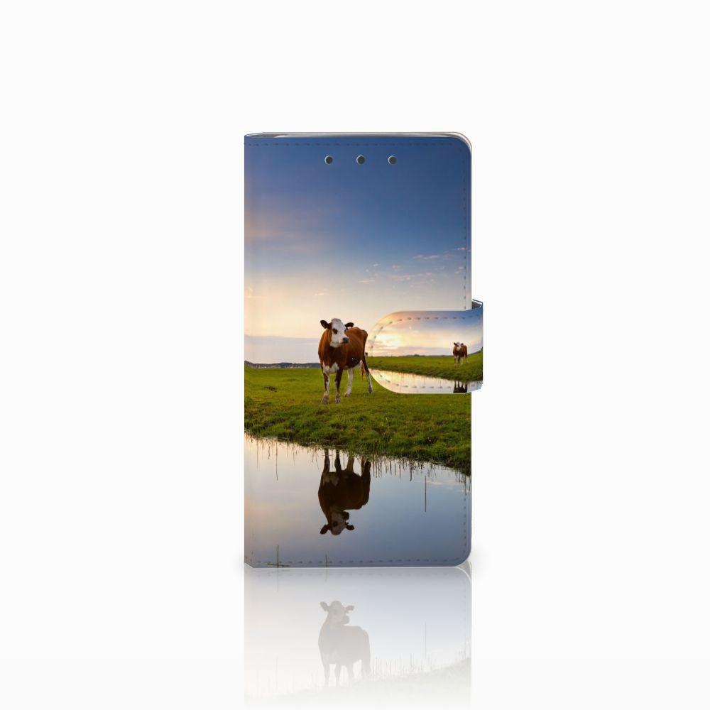 HTC One M7 Boekhoesje Design Koe