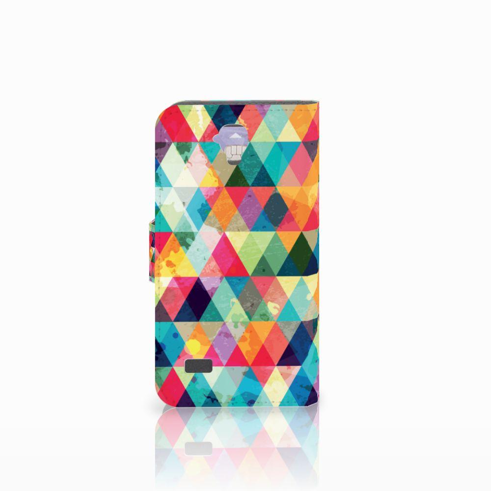 Huawei Y5 Y560 Telefoon Hoesje Geruit