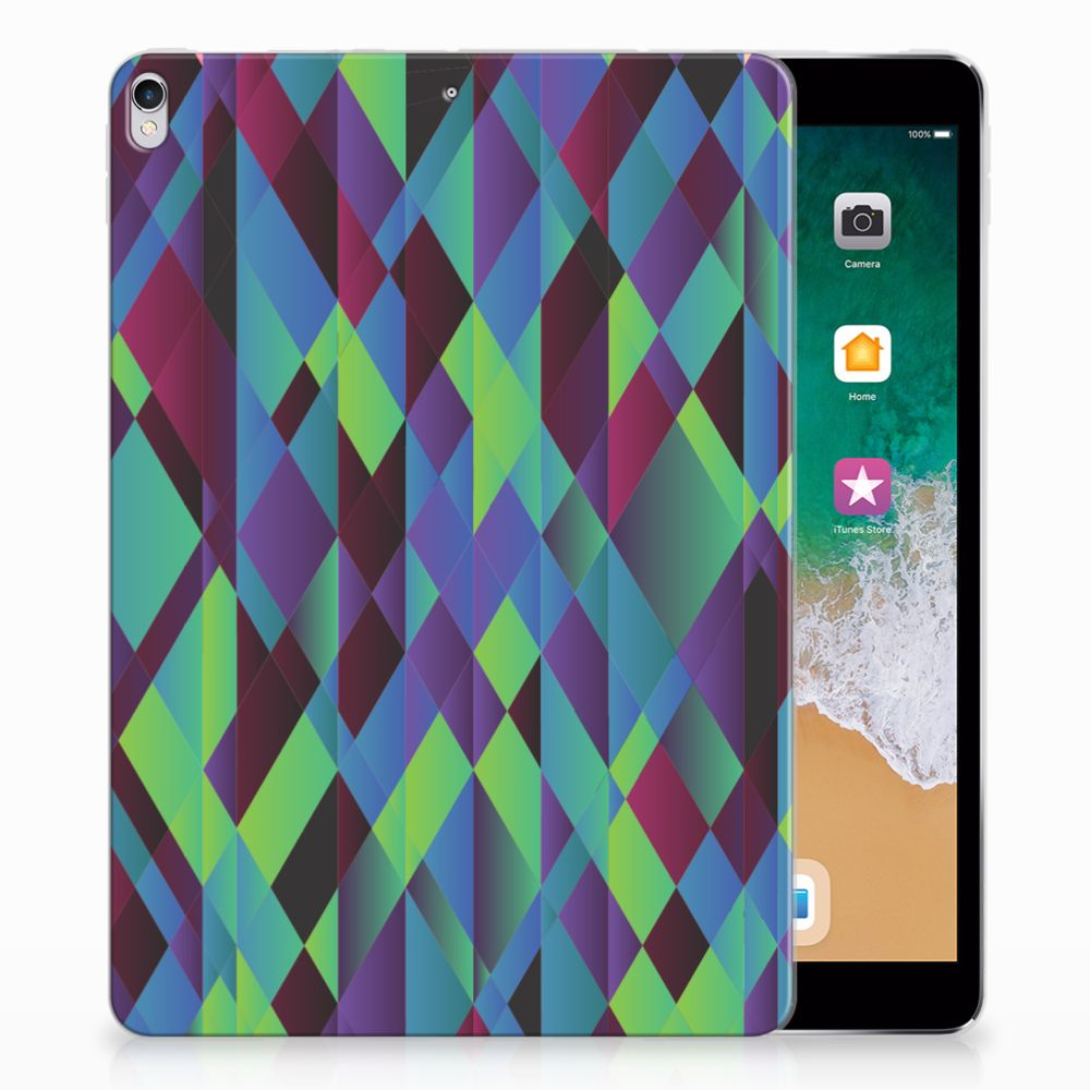 Apple iPad Pro 10.5 Back Cover Abstract Green Blue