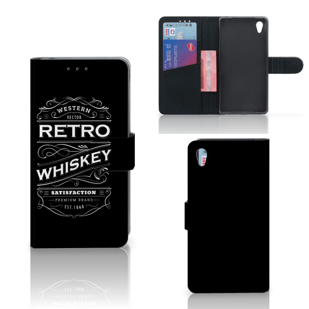 Sony Xperia Z2 Book Cover Whiskey