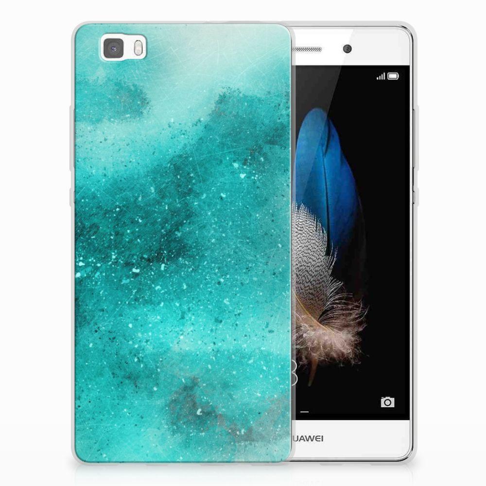 Hoesje maken Huawei Ascend P8 Lite Painting Blue