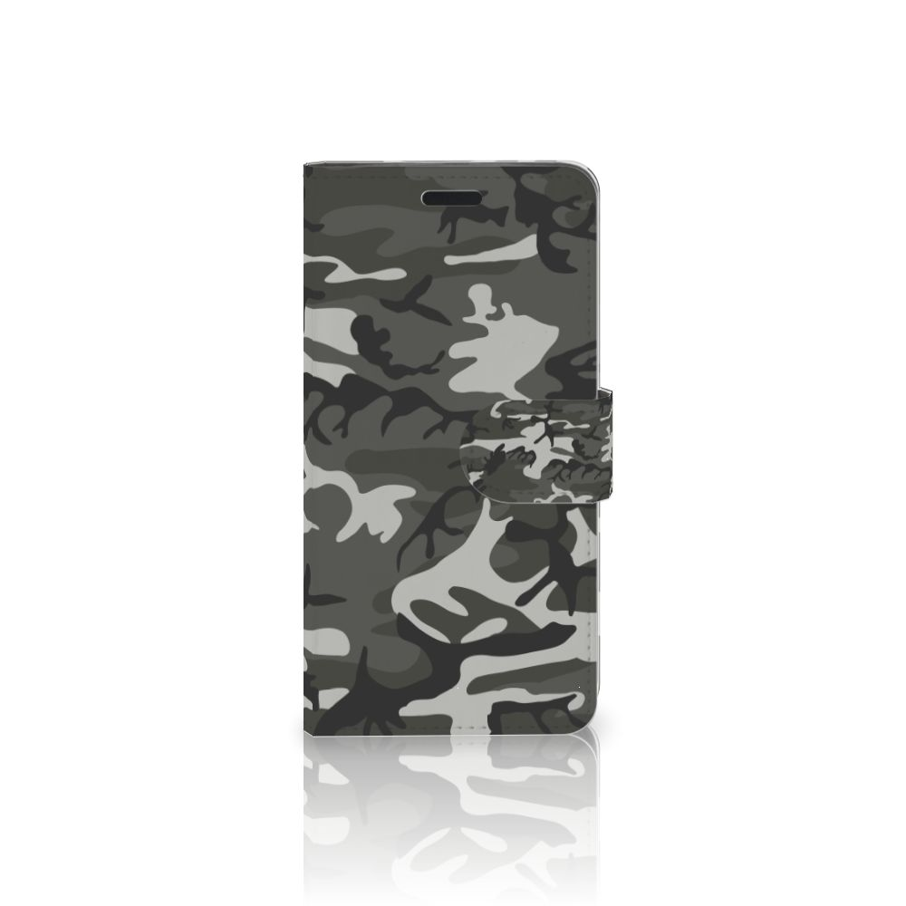 HTC 10 Uniek Boekhoesje Army Light