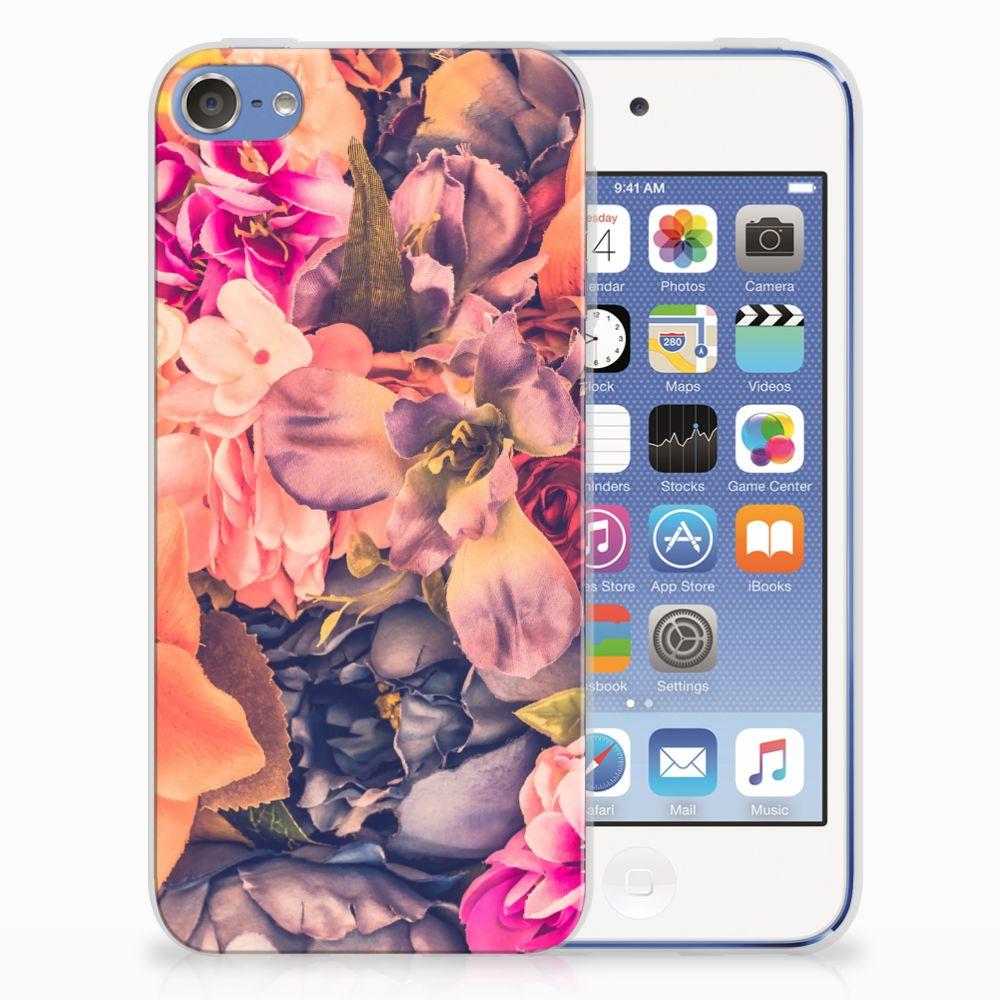 Apple iPod Touch 5 | 6 TPU Hoesje Design Bosje Bloemen