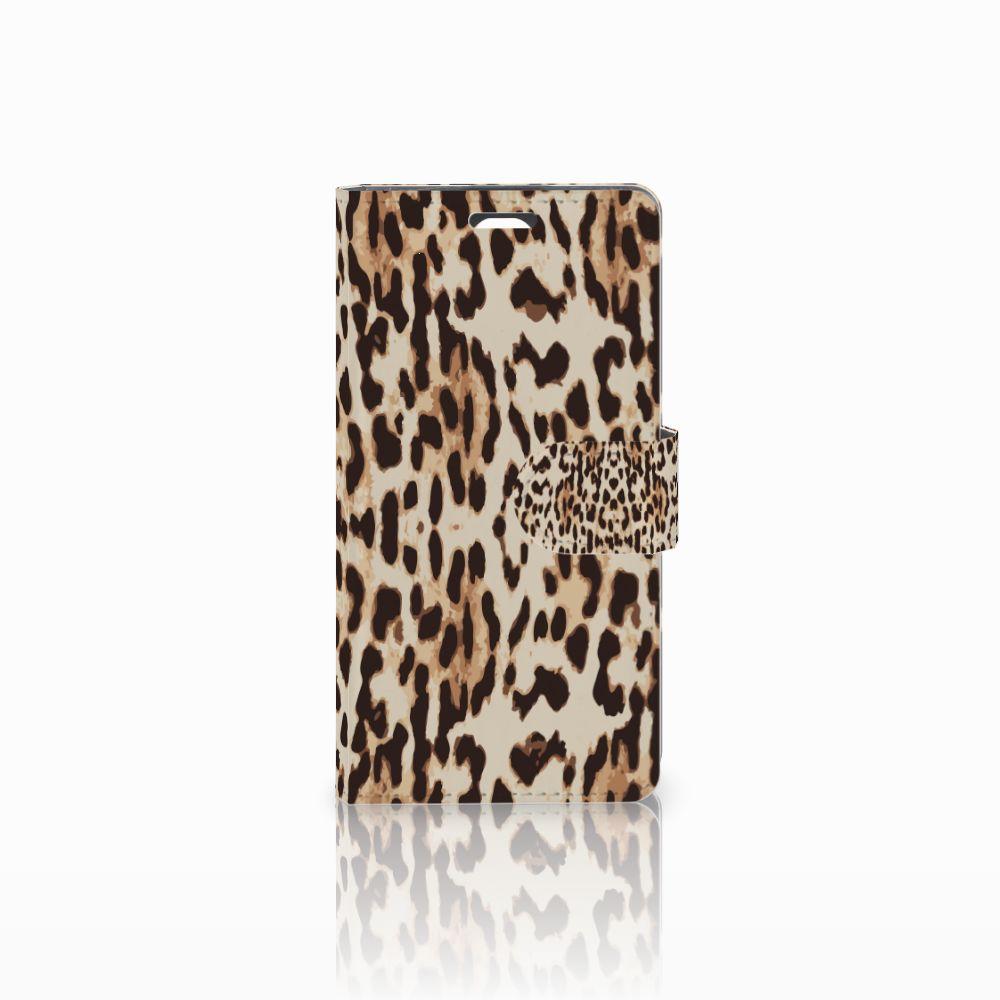 LG Magna | G4C Uniek Boekhoesje Leopard