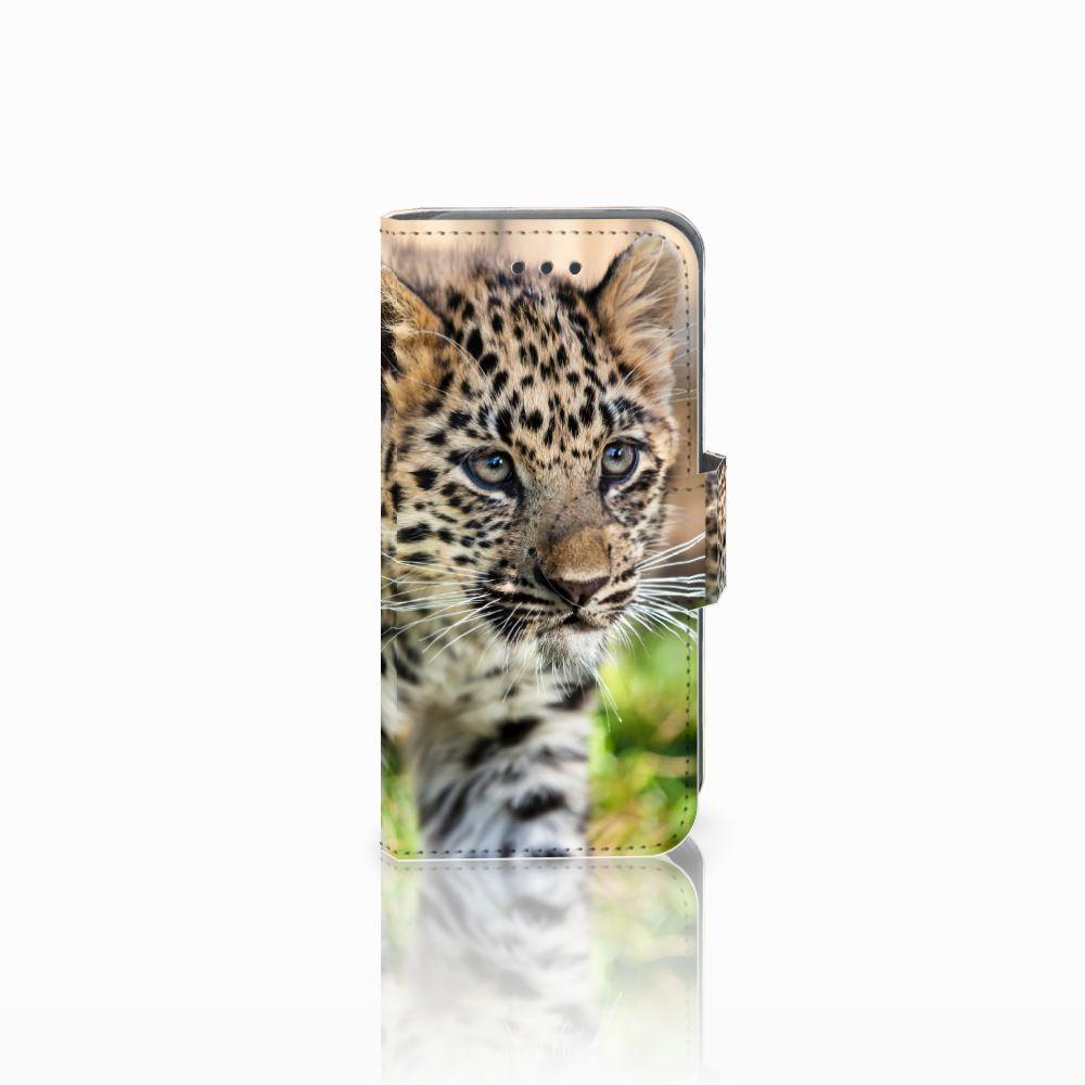 Apple iPod Touch 5 | 6 | iPod (2019) Uniek Boekhoesje Baby Luipaard
