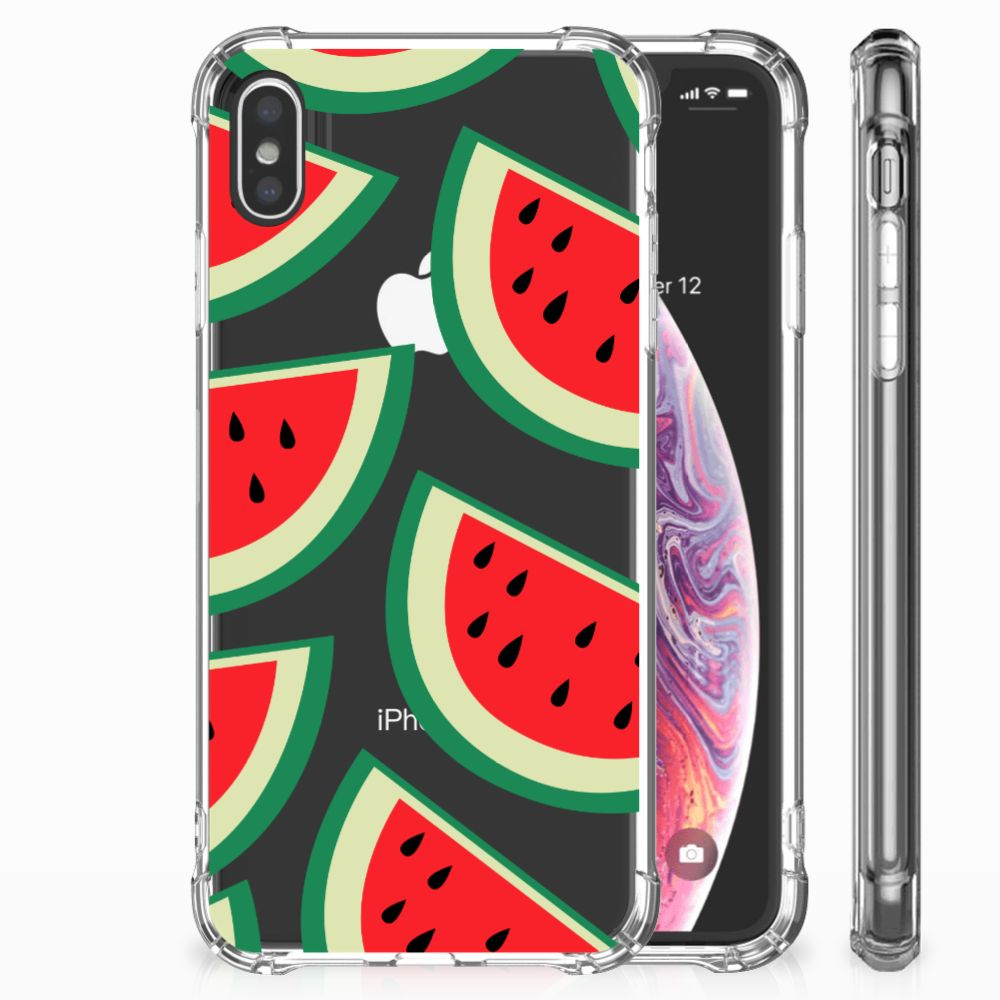 Apple iPhone Xs Max Beschermhoes Watermelons