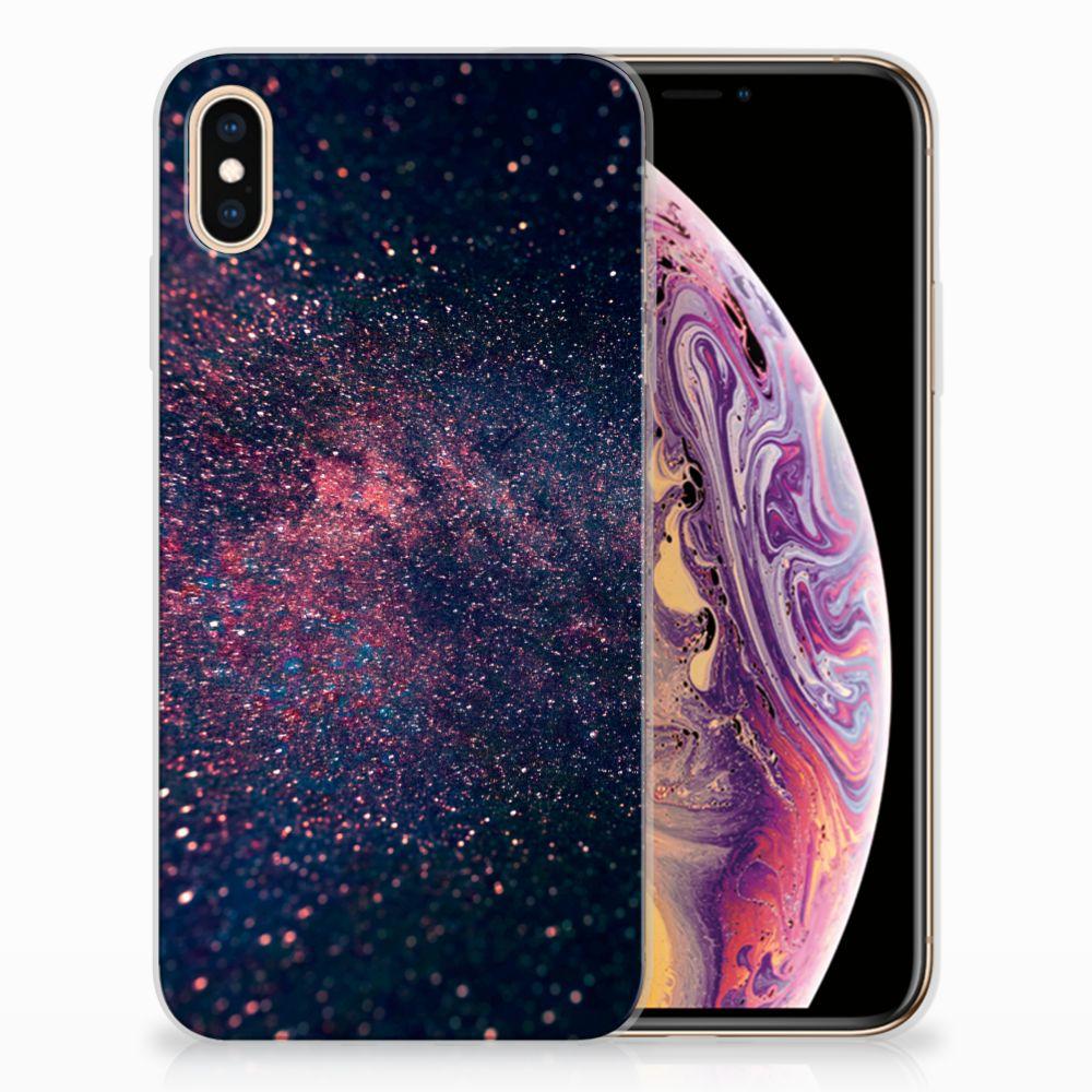 Apple iPhone Xs Max TPU Hoesje Design Stars